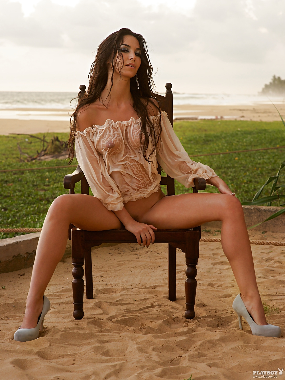 Sila Sahin Muslim Posing Nude for Playboy