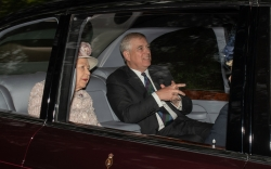 Prince Andrew Breaks Cover after Epsteins Sucicide