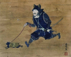 My most favorite painting of Mongolian Conqueror Genghis Khan