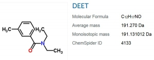 DEET is one chemical component of a binary chemical weapon system currently being carpet bombed onto U.S. civilian populations.