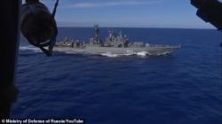 Russian fleet 35 miles off Hawaii