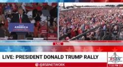 Massive Crowd in Georgia Greets President Trump